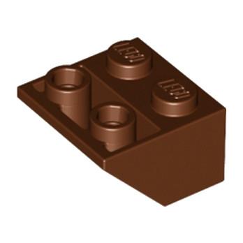 LEGO 4211221 TUILE 2X2/45 INV - REDDISH BROWN lego-4211221-tuile-2x245-inv-reddish-brown ici :