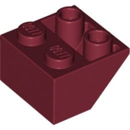 LEGO  4163068 TUILE 2X2/45 INV - NEW DARK RED