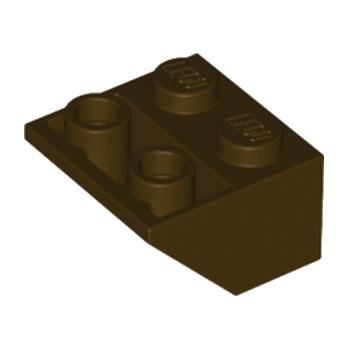 LEGO 4648296 TUILE 2X2/45 INV. - DARK BROWN