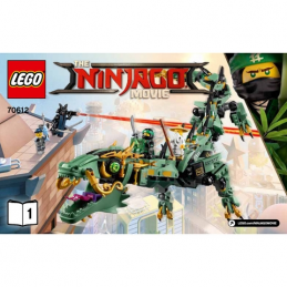 Notice / Instruction Lego Ninjago 70612