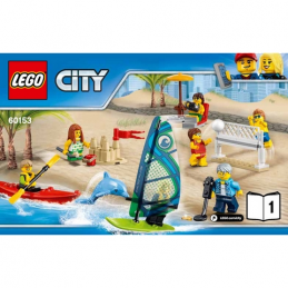 Notice / Instruction Lego City 60153