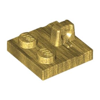 LEGO 6195270 PLATE 2X2 - WARM GOLD