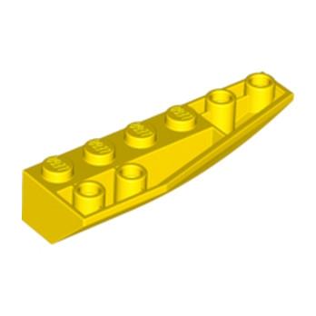 LEGO 6097422 RIGHT SHELL 2X6W/BOW/ANGLE,INV - JAUNE