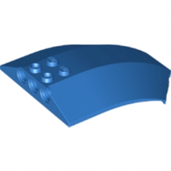LEGO 6196002 SHELL 6X8X2 W/BOW/ANGLE - BLEU