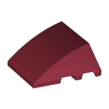 LEGO 4611666  BRIQUE 4X3 W. BOW/ANGLE - NEW DARK RED