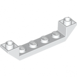 LEGO 4259937  INVERTED ROOF TILE 6X1X1 - BLANC