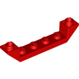 LEGO 4259678 INVERTED ROOF TILE 6X1X1 - ROUGE