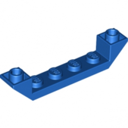 LEGO 4294738 INVERTED ROOF TILE 6X1X1 - BLEU
