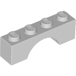 LEGO 4211435 BRIQUE ARCHE 1X4 - MEDIUM STONE GREY