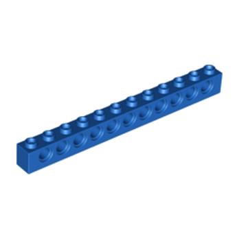 LEGO 389523 TECHNIC BRIQUE 1X12, Ø4,9 - BLEU