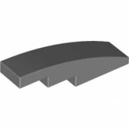 LEGO 4556083 BRIQUE BOW 1X4 - DARK STONE GREY