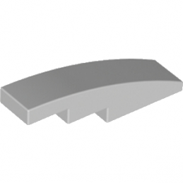 LEGO 4532593 BRIQUE BOW 1X4 - MEDIUM STONE GREY