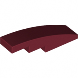 LEGO 4551604  BRIQUE BOW 1X4 - NEW DARK RED