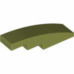 LEGO 6016470 BRIQUE BOW 1X4 - OLIVE GREEN