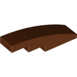 LEGO 4626779 BRIQUE BOW 1X4 - REDDISH BROWN