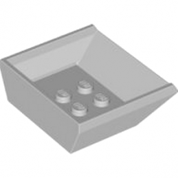 LEGO 4520296 BAC 5X4,5X1 1/3 - MEDIUM STONE GREY
