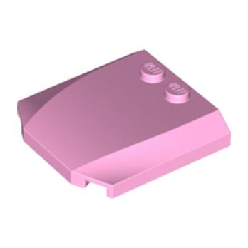 LEGO 6214084 CAPOT 4X4X2/3 - ROSE CLAIR