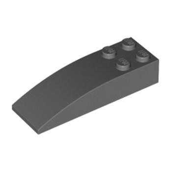 LEGO 4210873 BRIQUE 2 X 6 W. BOW - DARK STONE GREY lego-4210873-brique-2-x-6-w-bow-dark-stone-grey ici :