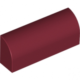 LEGO 6083613 BRIQUE 1X4X1 1/3 - NEW DARK RED