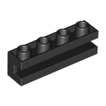 LEGO 265326 SLIDING PIECE 1X4 - NOIR