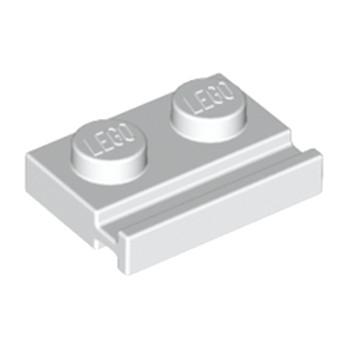 LEGO 4170253 PLATE 1X2 - BLANC