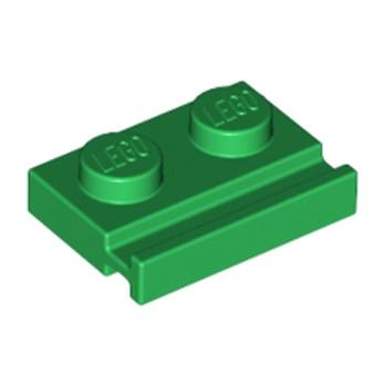 LEGO 4107760 PLATE 1X2 - DARK GREEN