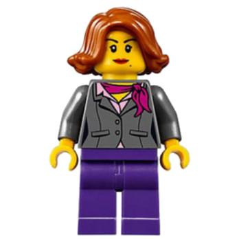 Mini Figurine LEGO® : City - Citoyenne