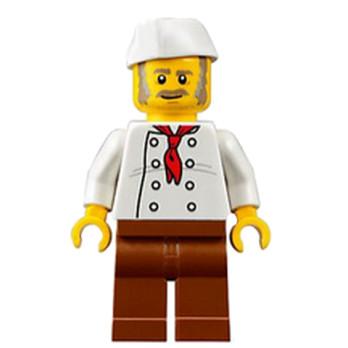Mini Figurine LEGO® : City - Cuisinier