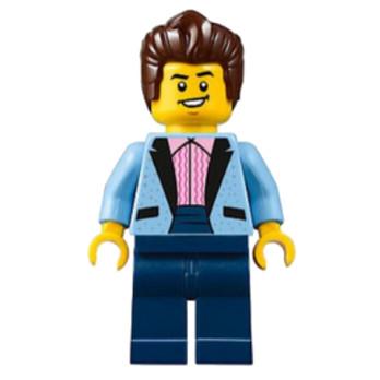 Mini Figurine LEGO® : City - Rockeur