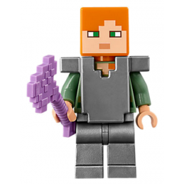 Mini Figurine LEGO® : Minecraft - Alex