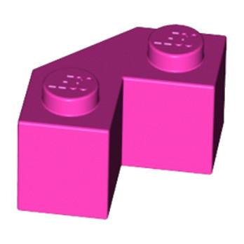 LEGO 6212978 BRIQUE 2X2 ANGLE 45° - ROSE