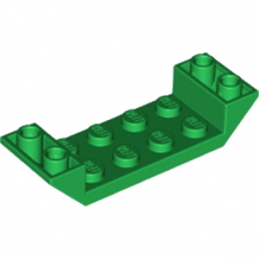LEGO 6231514 ROOF TILE 2X6 45 DEG - DARK GREEN