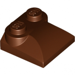 LEGO 6058134 BLOC MOTEUR 2X2 - REDDISH BROWN