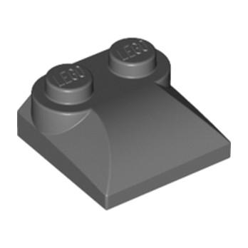 LEGO 4218696 BLOC MOTEUR 2X2 - DARK STONE GREY