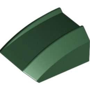 LEGO 6113046 BLOC MOTEUR 2X2 SPORT - DARK GREEN