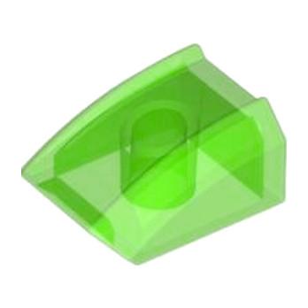 LEGO 4571137 BLOC MOTEUR 2X2 - VERT FLUO TRANSPARENT