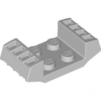 LEGO 4211748 BLOC MOTEUR 2X4 - MEDIUM STONE GREY