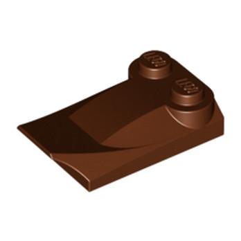LEGO 4507833  PLATE W. BOWS 2X3½ - REDDISH BROWN lego-4507833-plate-w-bows-2x3-reddish-brown ici :
