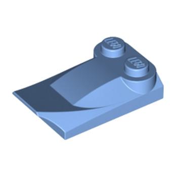 LEGO 4218566 PLATE W. BOWS 2X3½ - MEDIUM BLUE