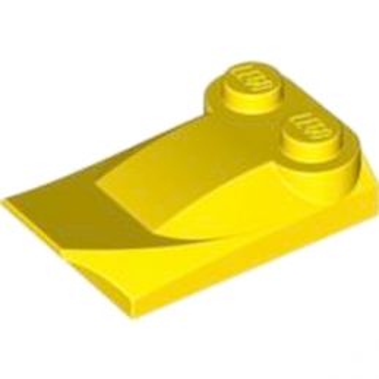 LEGO 4218672  PLATE W. BOWS 2X3½ - JAUNE