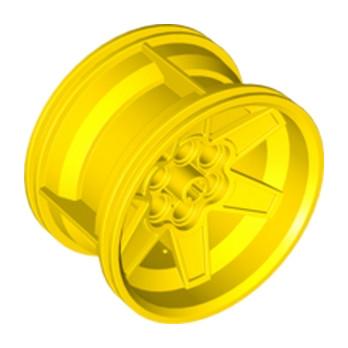 LEGO 6065490 JANTE Ø 56 X 34 - JAUNE lego-6276852-jante-o-56-x-34-jaune ici :