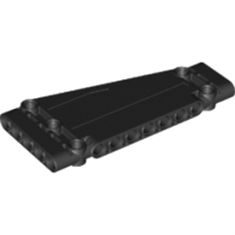 LEGO 6164383 TECHNIC PANEL / ANGLE 5X11  - NOIR