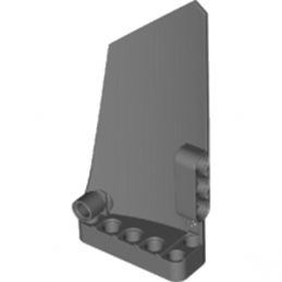 LEGO 6182380 RIGHT PANEL 5X11 - DARK STONE GREY