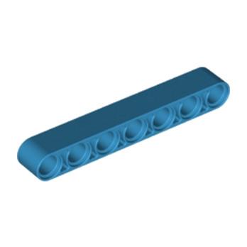 LEGO 6211928 TECHNIC 7M BEAM - DARK AZUR lego-6211928-technic-7m-beam-dark-azur ici :