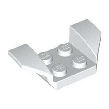 LEGO 4163943 GARDE BOUE 2X4 - BLANC -lego-4549393-garde-boue-2x4-blanc ici :