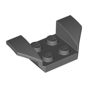 LEGO 4210812 GARDE BOUE 2X4 - DARK STONE GREY lego-4210812-garde-boue-2x4-dark-stone-grey ici :