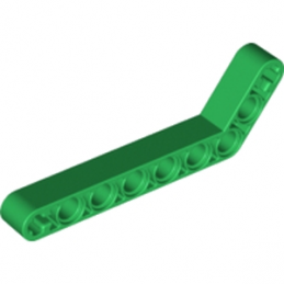 LEGO 6218109 TECHNIC ANGULAR BEAM 3X7 - DARK GREEN