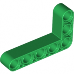LEGO 6013557 TECHNIC ANG. BEAM 3X5 90 DEG. - DARK GREEN