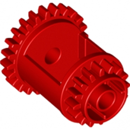LEGO 6188245 DIFFERENTIALE GEAR CASING - ROUGE