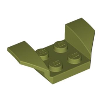 LEGO 6016462 GARDE BOUE 2X4 - OLIVE GREEN
